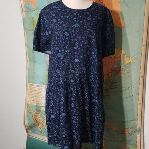 Gap Dropwaist Denim Dress